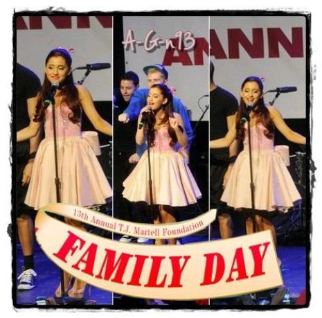 la 13° journée de la famille, un spectacle et plusieurs chansons