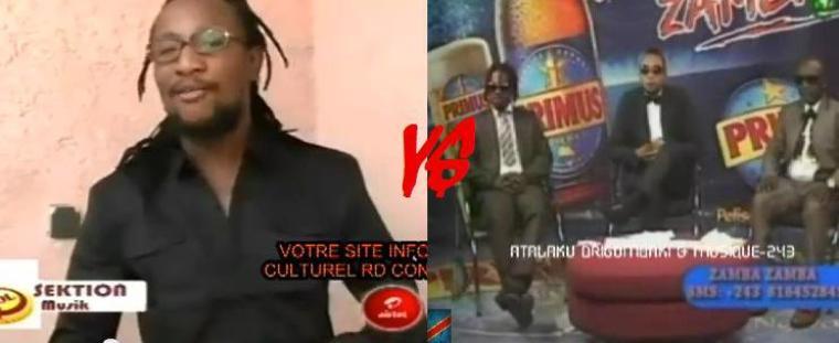 NEW VIDEO:ZAMBA ZAMBA - WENGE MUSICA RÉPONDENT À BRIGADE!!