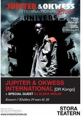 Jupiter & Okwess International en concert live en Suède // Malmö et Göteborg 26 et 29 Mars