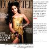 """Article 23 Juillet ♥   Rani fait la couverture de L'Officiel   Rubrique : When  """"Stars""""  & """"Magazine"""" meet !"""