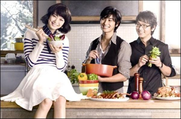 Naked Kitchen//Film Coreen // 5parties //Comédi & Romance// 2009