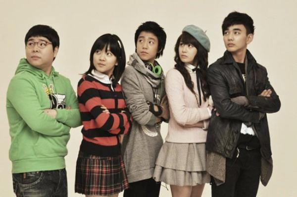 God of Study//Drama Coreen // 16 épisodes //Comdédie & Ecole// 2011
