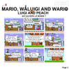 Mario, Waluigi and Wario VS Luigi and Peach