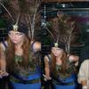 """. Samedi 31 Octobre : M' fête Halloween au """"The Park"""" ! Son costume est EF.FRA.YANT (déguisée en paon) ! ."""