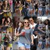 Rattrapage :. Samedi 10 juillet  Leighton et JSzorh sur le tournage de Gossip Girl et quittant un SPA - NYC.