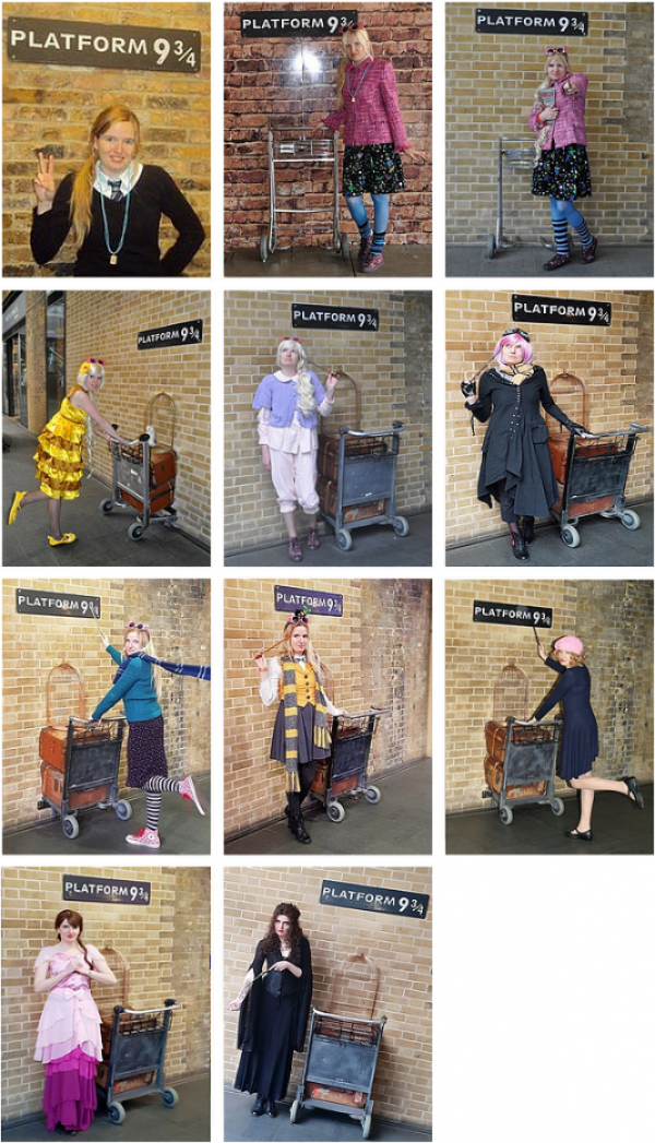 ϟ King's cross - Platform 9 3/4 ϟ