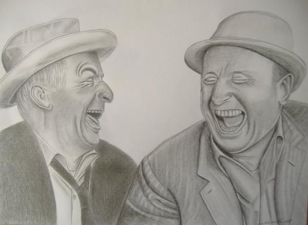 Un double portrait qui donne le sourire ! ! !
