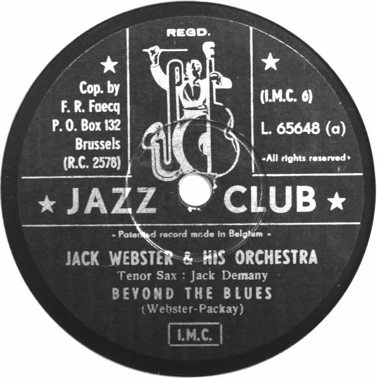 John Ouwerx (1903 -1983) Un héros méconnu du jazz belge