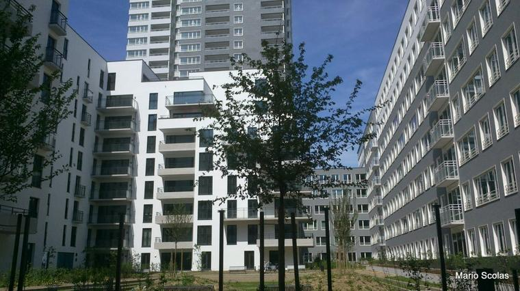 Place to live in Brussels : 362 appartements dans la tour Up-site et les immeubles marina