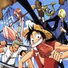 One piece  Un bon manga /// Mon personnage préféré est  Monkey D. Luffy et le personnage que j'aime pas c'est Nami ///