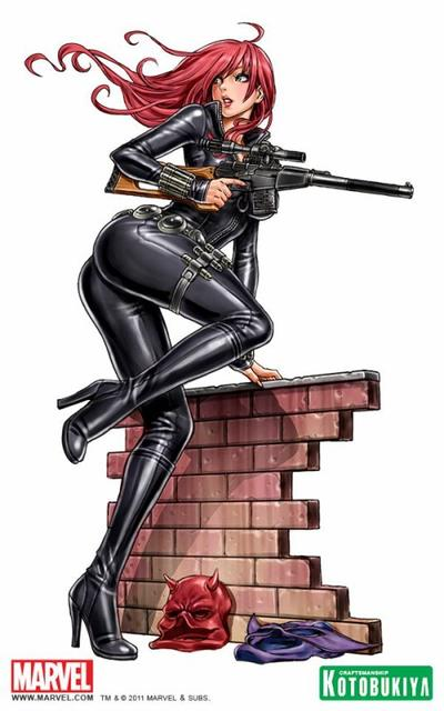 La Veuve Noire, «l'espionne qui venait du froid»