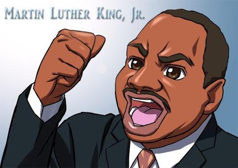 Martin Luther King Jr., l'apôtre de la non violence