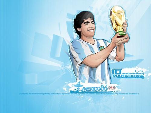 Diego Maradona, le génie du football