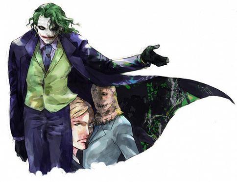 Le joker, le chaos destructeur face à l'ordre