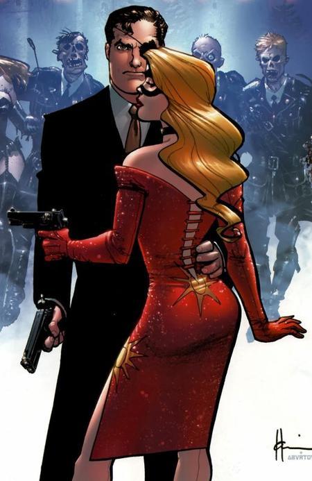Blonde Phantom, une détective très glamour