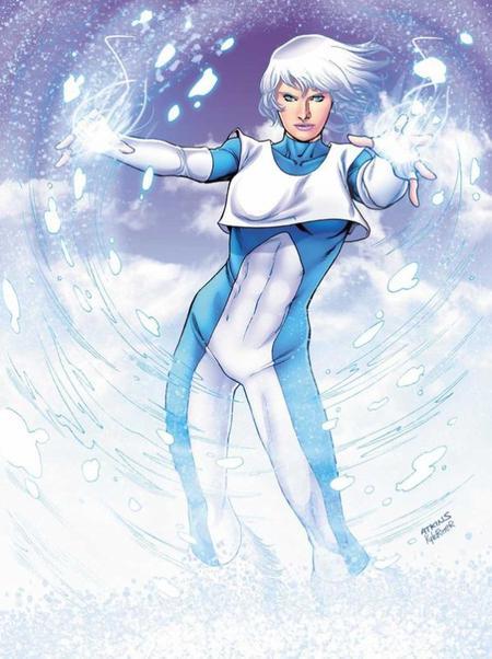 Ice, une super héroïne nordique