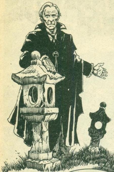 Le professeur Abraham Van Helsing, le plus célèbre des chasseurs de vampires