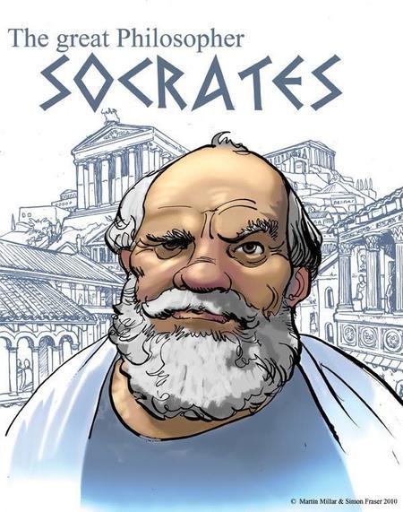 Socrate, un philosophe dépassant du cadre