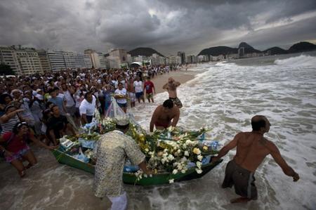 Le Réveillon du Nouvel An au Brésil