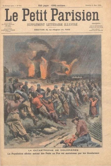 La catastrophe de courri res le roi arthur la r alit for Garage flagez montigny le roi incendie