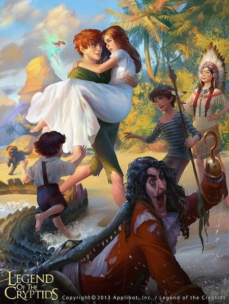 Peter Pan, l'enfant qui refuse de grandir
