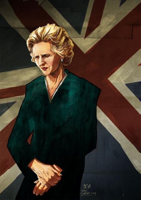 Margaret Thatcher, une dame de fer