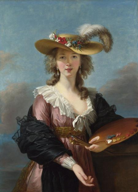 Mme Vigée-Lebrun, une peintre talentueuse dans un contexte mouvementée