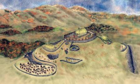 Bamburgh, la forteresse du royaume de Bernicie