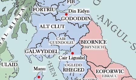 Caer-Gwendolleu, un puissant royaume allié au Rheged et face aux convoitises