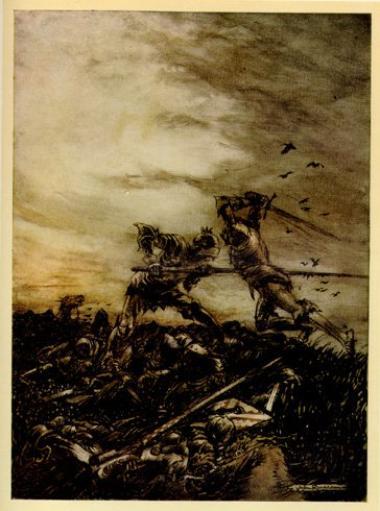 La vision d'Arthur par John Severin