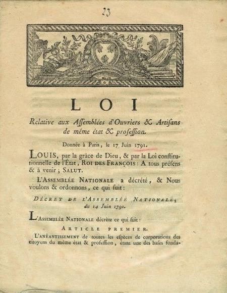 1791, l'année des ruptures (partie 6)