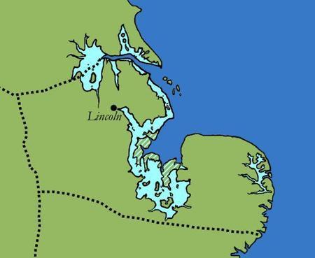 Lincoln, une ville britto-romaine devenue anglo-saxonne