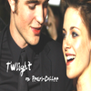 .Twilight on Pearl-Coffee Robert Pattinson & Kristen Stewarts