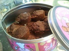 """=====> Muffin allégé banane chocolat de """"55kilogrammes"""" sans matière grasse"""