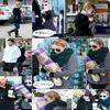 . . 9 février : Nicole qui est de sortie dans un supermarché poyur faire quelques courses, à Los Angeles. . . 10 février : Nicole avec une amie, qui sont allée acheter des fleurs. . .