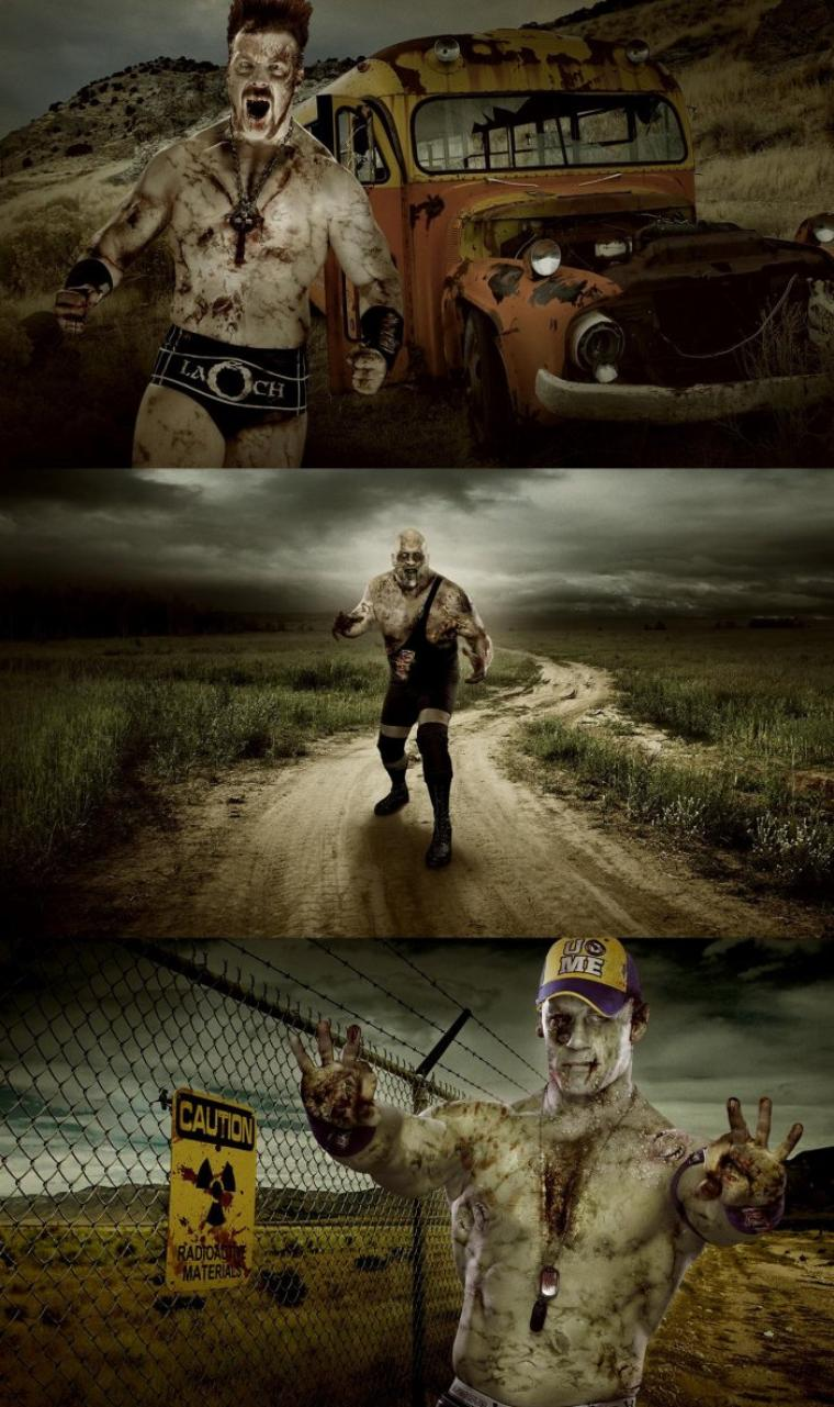 WWE ZOMBIES: RING OF THE LIVING DEAD