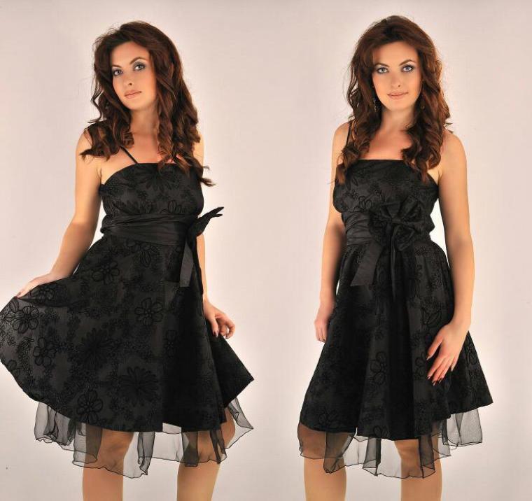 robe de soiree chic et choc. Black Bedroom Furniture Sets. Home Design Ideas