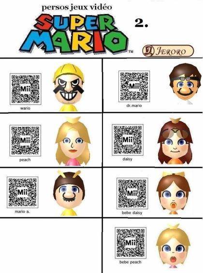 Qr code Mii 3DS