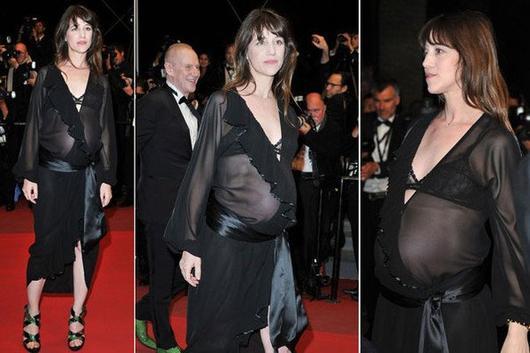 Charlotte gainsbourg est maman les c l brit s enceintes et leurs enfants - Charlotte de turckheim et son mari ...