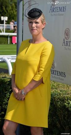 Zara Philips-Tindall enceinte de bientôt 4 mois!