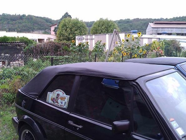 Changement capote Golf 1 Cabriolet
