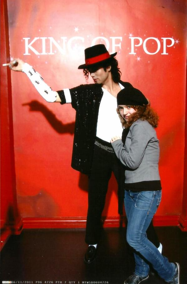 Moi : Léa, Fan de Michael un jour, fan de Michael toujours :) !