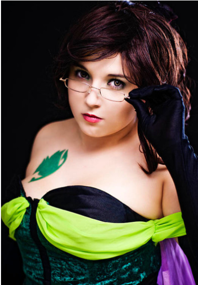 Cosplay EverGreen et Flare Corona