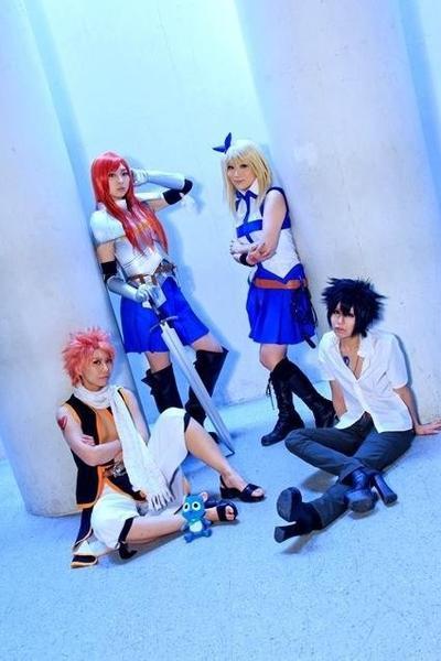 Cosplay Team Fairy Tail