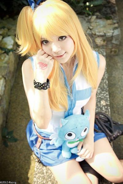Cosplay Lucy Heartfilia
