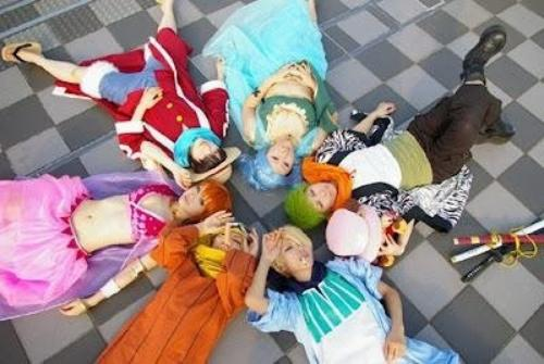 Cosplay Team One Piece