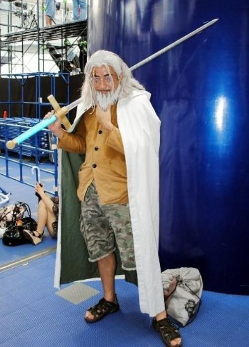 Cosplay Gold D. Roger et Rayleigh
