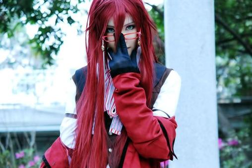 Cosplay Grell Stucliffe