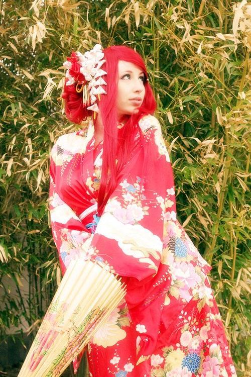 Cosplay Kushina Uzumaki