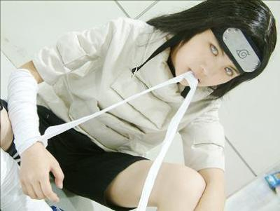 Cosplay Neji Hyuga